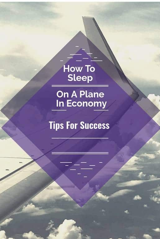 How to sleep on a plane in economy tips for success