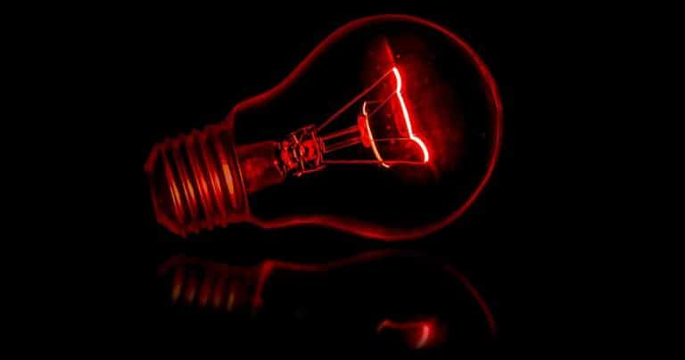 Red Night Light Bulb