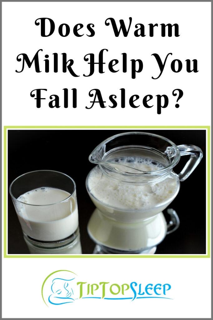 Does Warm Milk Help You Fall Asleep Pinterest