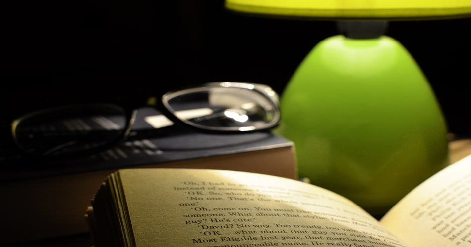Bright light - How to Avoid Sleep While Reading?