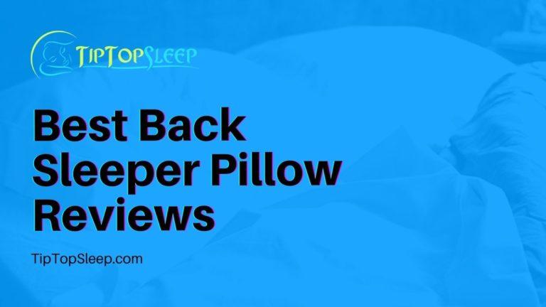 Best-Back-Sleeper-Pillow-Reviews