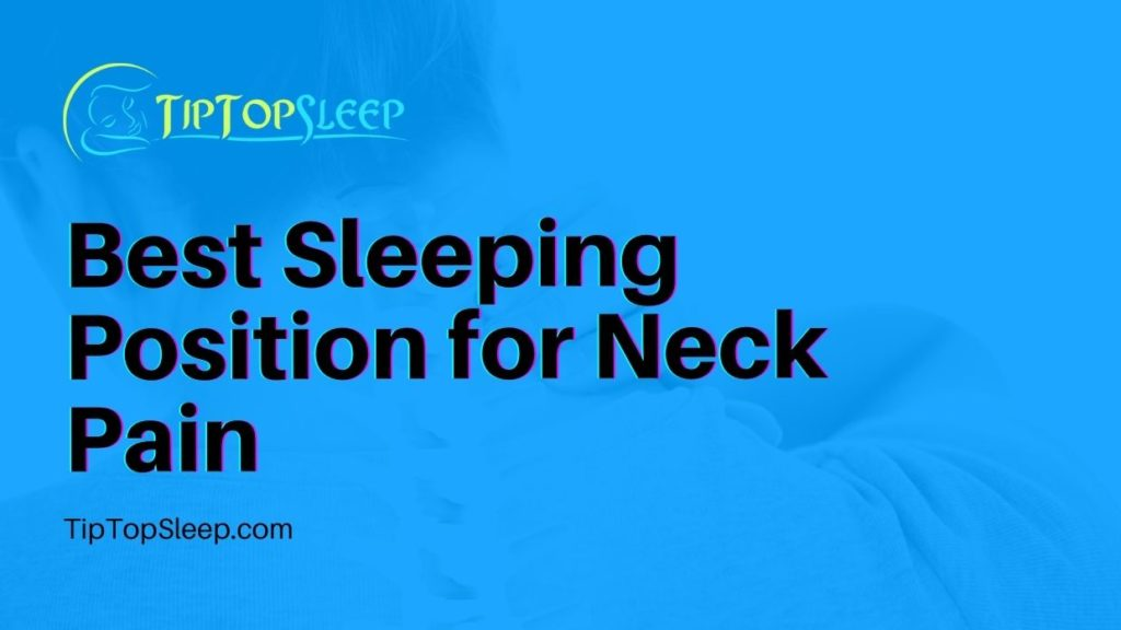 Best-Sleeping-Position-for-Neck-Pain