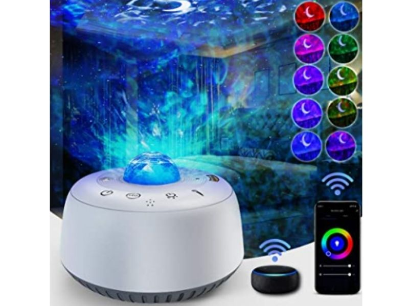 Moon Projector Night Light Review