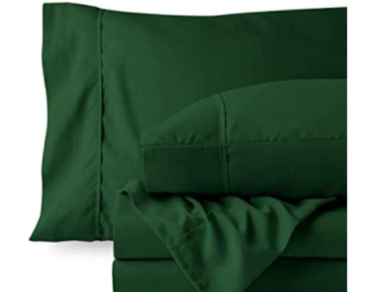Best Green Bed Sheets - Tip Top Sleep
