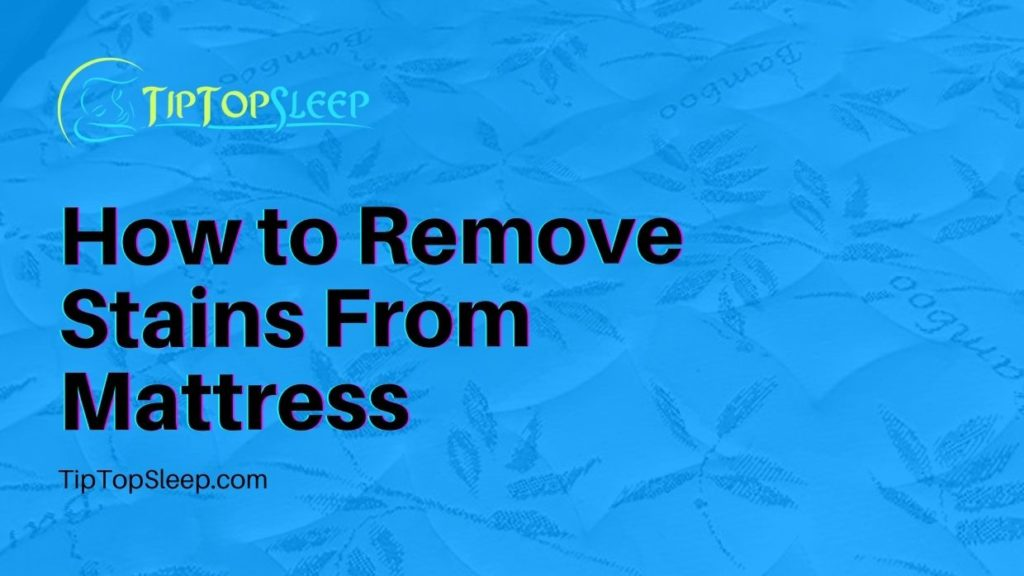 How-to-Remove-Stains-From-Mattress