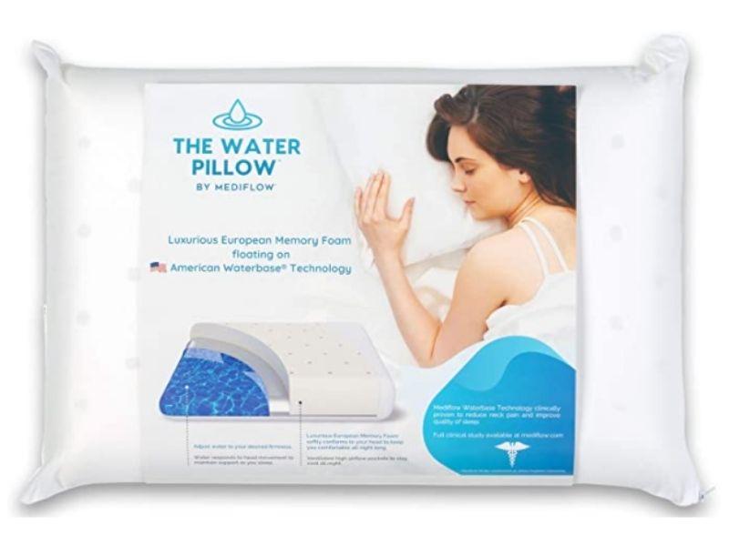 List of the Best Water Pillow - Tip Top Sleep